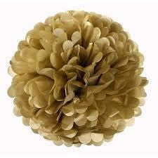 PUFF DECOR 40cm - GOLD