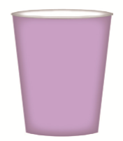 CUPS PAPER 8PK LILAC