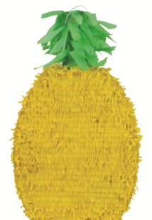 PINATA SHAPECUT PINEAPPLE