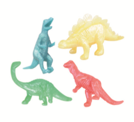 FAVOUR DINOSAURS 8PCS