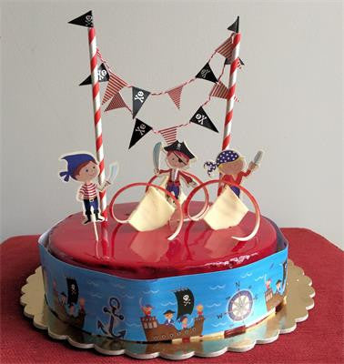 Cake Topper Kit Pirate