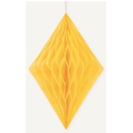 DIAMOND DECO 35.5cm - YELLOW