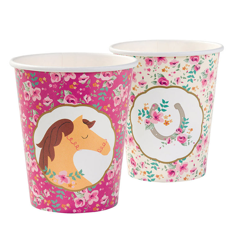 Pony Cups 2 designs 12pk