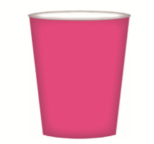 CUPS PAPER 8PK PINK