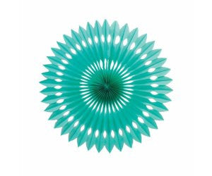 HANGING FAN CLASSIC TURQUOISE 40CM 1 PK