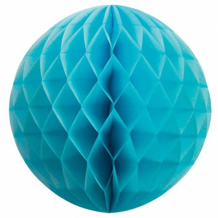 HONEYCOMB BALL ELECTRIC BLUE 35CM 1 PK