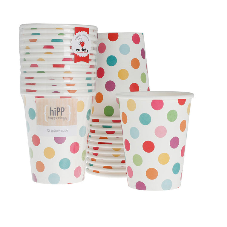 cups 250ml - 9oz - carnival spot