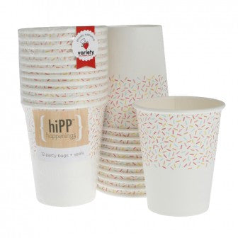 cups 250ml - 9oz - sprinkles