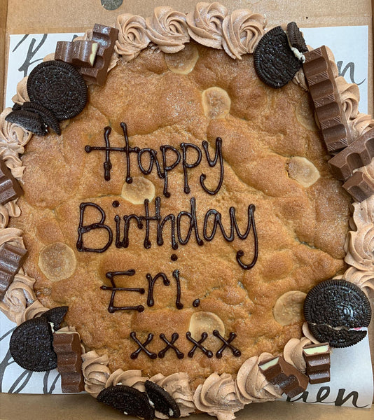 Pre Order Your Birthday Cookie Cake