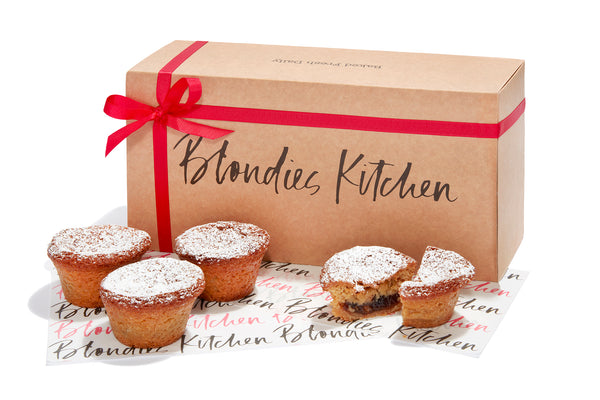 Gift box of Mince Pie Cookie Cups - 3, 6 or 12
