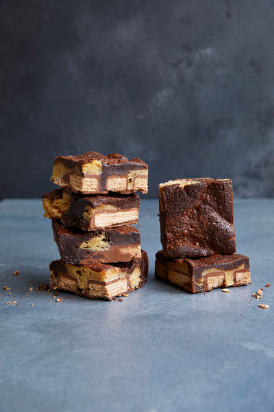 Cookie Dough Kit Kat Chunky Brownies