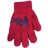 Ice Skate Themed Printed Logo Gloves