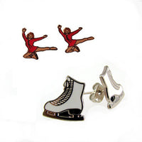 Ice Skate Themed Earrings