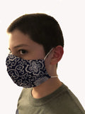 Mask with Filter Pocket and Nose wire