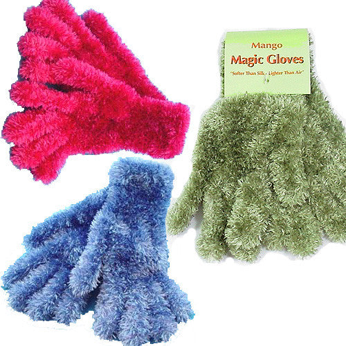 Ladies Fuzzy Gloves & Mittens by Mango