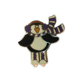 Ice Skating Themed Enamel Lapel Pins