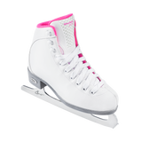 Riedell Model 18 Sparkle Jr. Skate Set - White and Pink