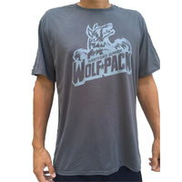 Junior Wolfpack Short Sleeve Grey Logo Tee