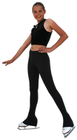 "Chloe Noel 2"" waist Black Fitted Pants - P23"
