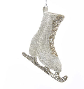 Glitter Ice Skate Ornament - J8987