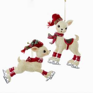 Northland Baby Deer Ornaments C9284