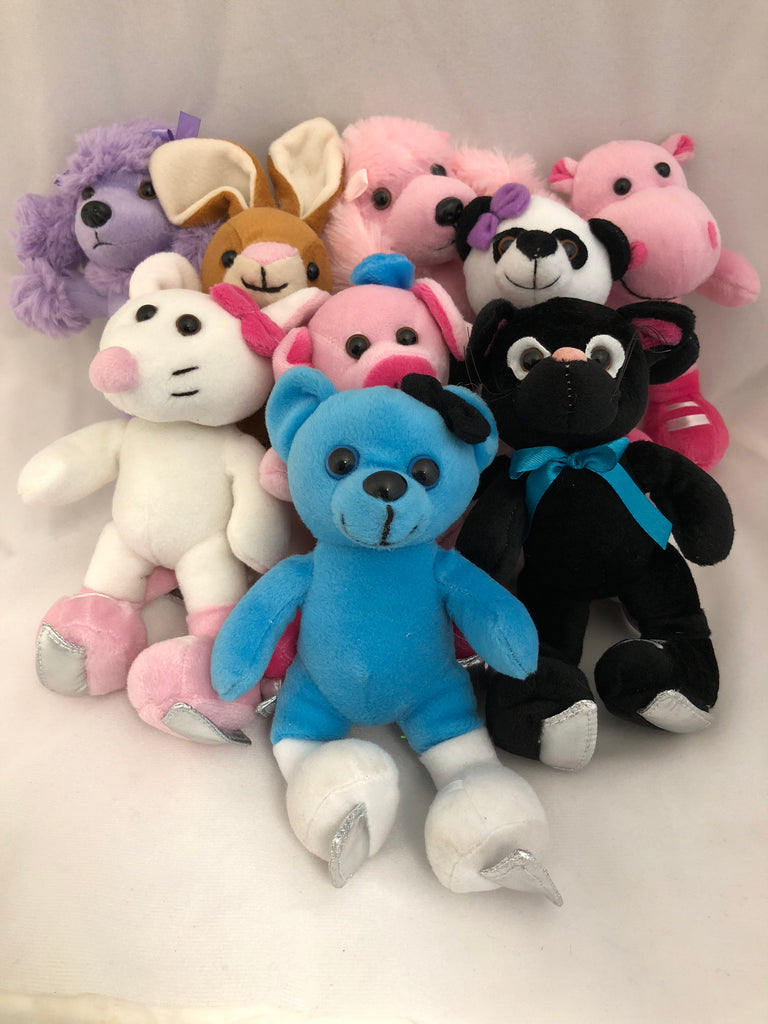 Skating Plush Animals