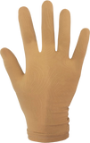 Beige Fitted Competition Gloves