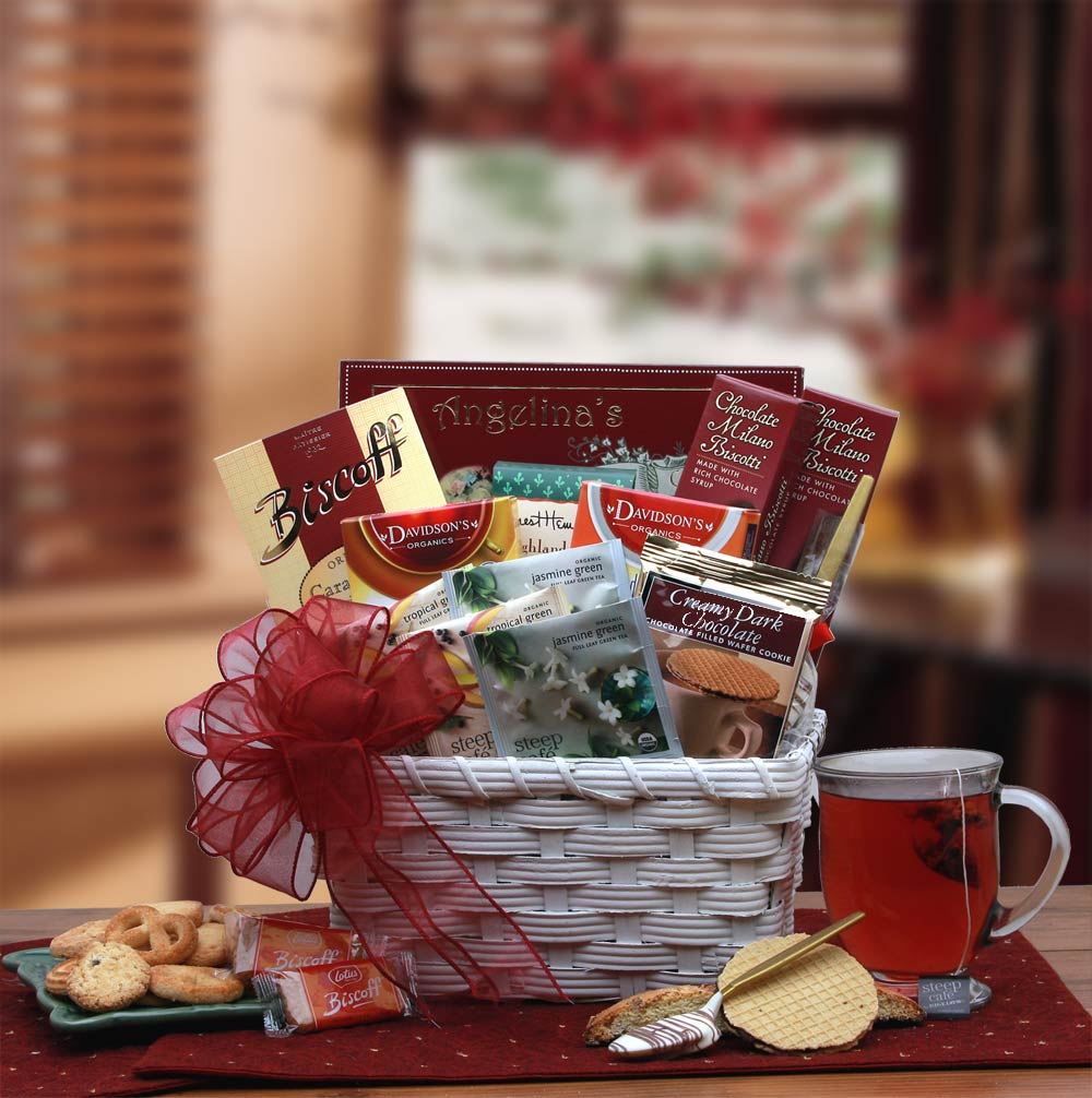 Tea Time Gift Basket
