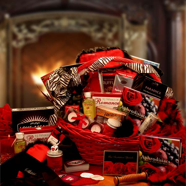 Couples Romantic Gift Basket