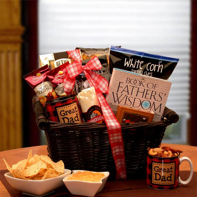 He's A Great Dad Gift Basket