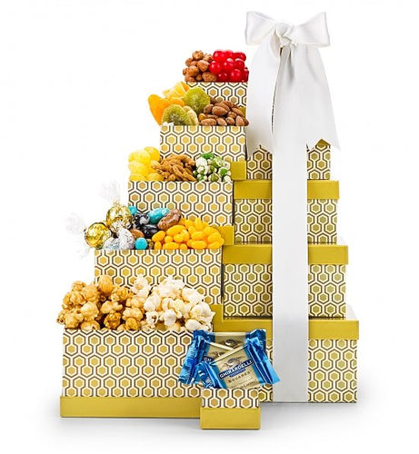 Honey Gold Gourmet Gift Tower