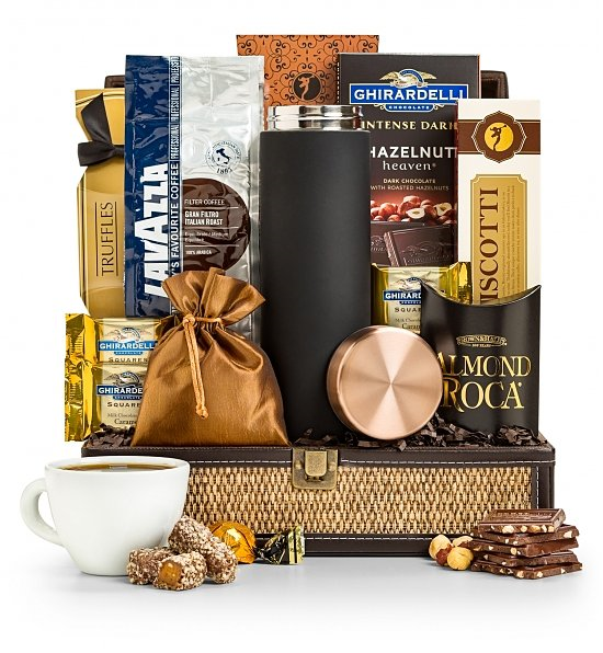 Italian Roast Coffee Chest