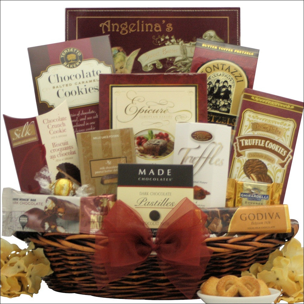 Chocolate Cravings: Corporate Chocolate Gift Basket
