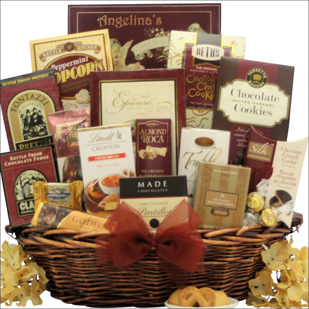 Chocolate Madness: Chocolate Gift Basket