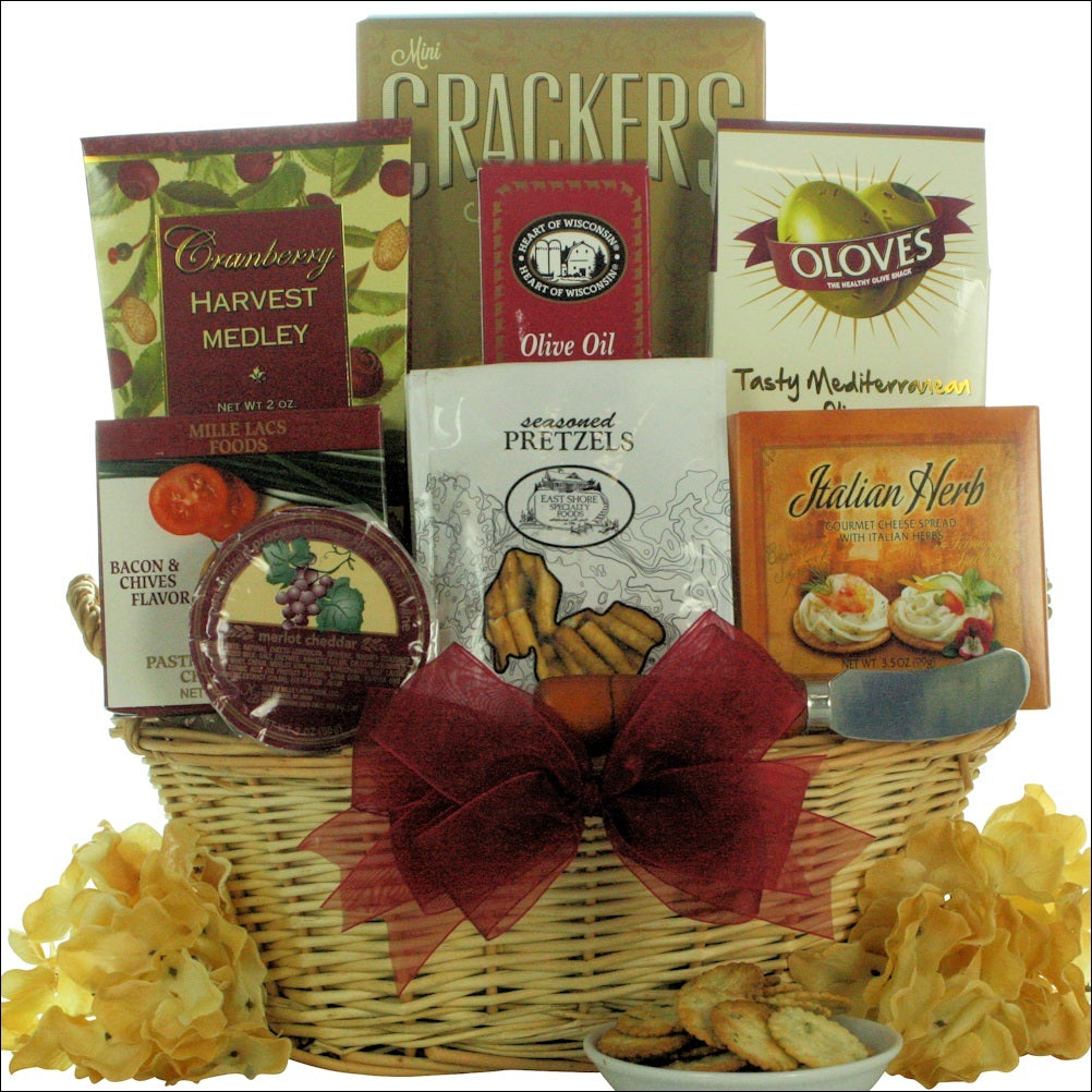 Taste of Tuscany Cheese & Snack Gift Basket