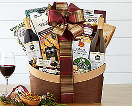 Hobson Estate California Assortment Wine Basket