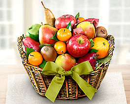Organic California Collection Fruit Gift Basket