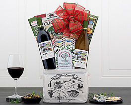 Rock Falls Winery Duet Wine Gift Basket