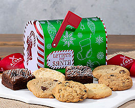 Santa's Cookie and Brownie Mailbox