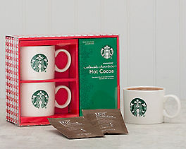 Starbucks Hot Cocoa and Mug Gift Set