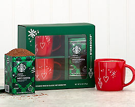 Starbucks Hot Cocoa for Two Holiday Set