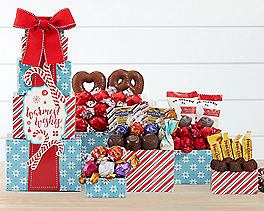 Warmest Wishes Chocolate Gift Tower