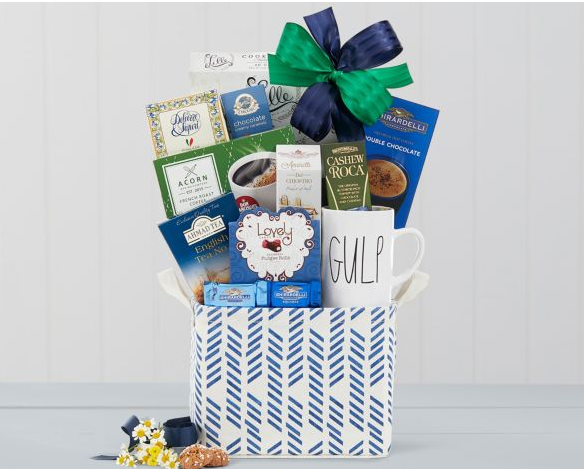Coffee Tea and Cocoa Gift Basket