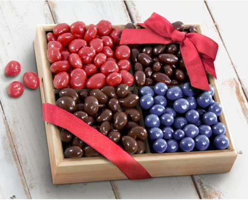 Chocolate Covered Bliss Fruit and Nut Tray