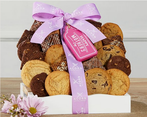 Happy Mother's Day Cookie and Brownie Gift Tray