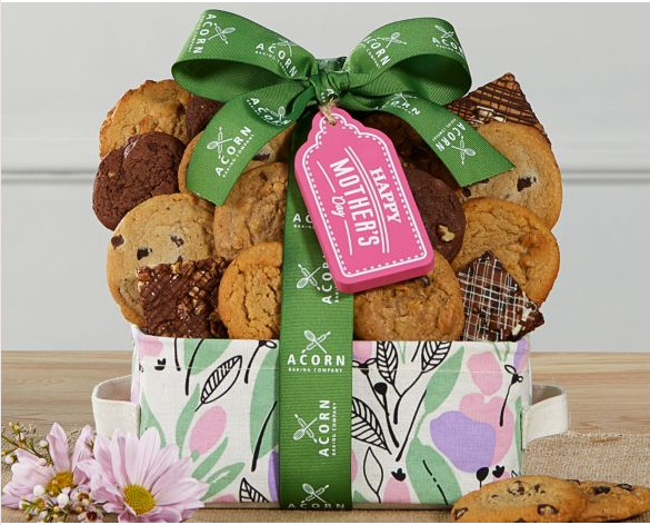 Mother's Day Cookie and Brownie Gift Collection