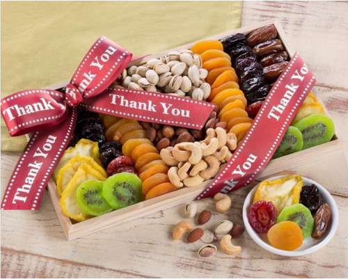 Thank You Dried Fruit and Nut Collection
