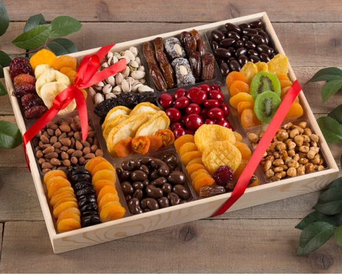 Ultimate Dried Fruit Chocolate and Nut Collection