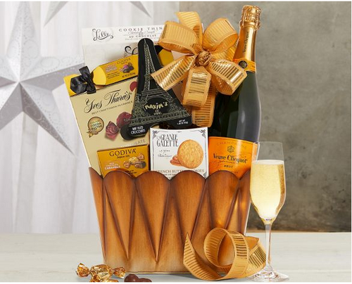 Veuve Clicquot Champagne Gift Basket-Available 10/30/2020