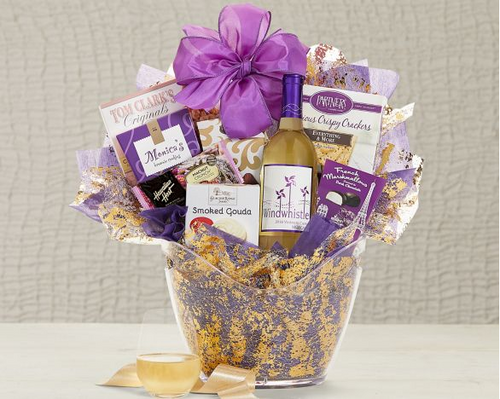 Windwhistle Sweet Moscato Wine Basket